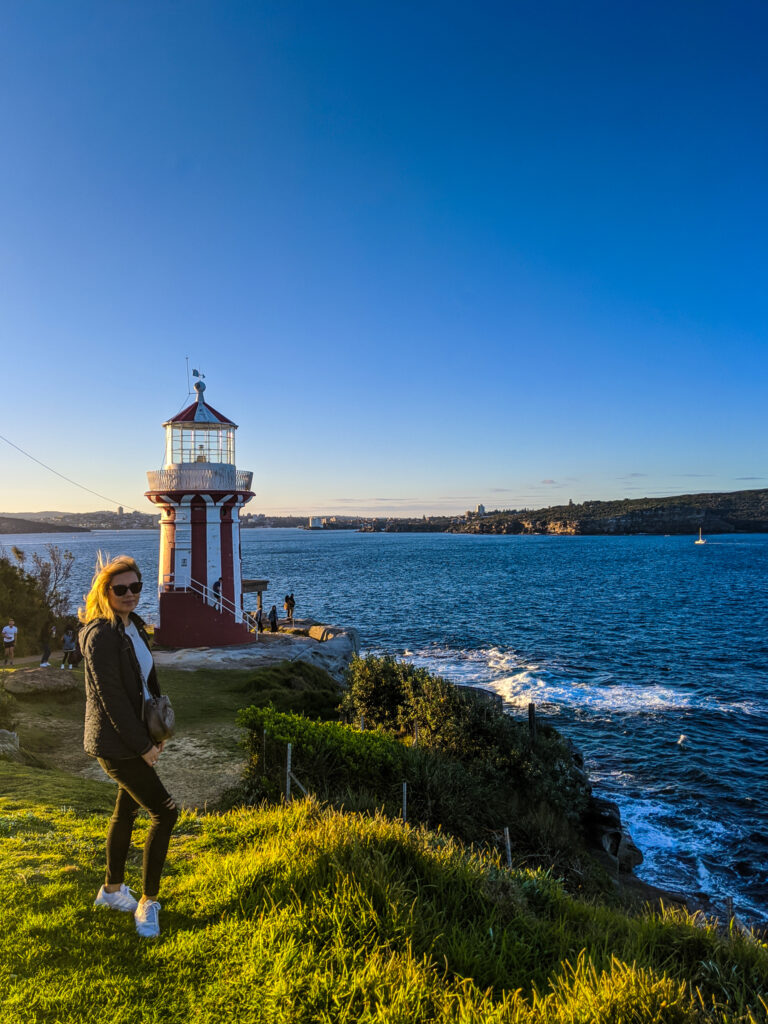 Hornsby Lighthouse in Watsons Bay