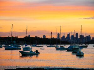 Watsons Bay sunset