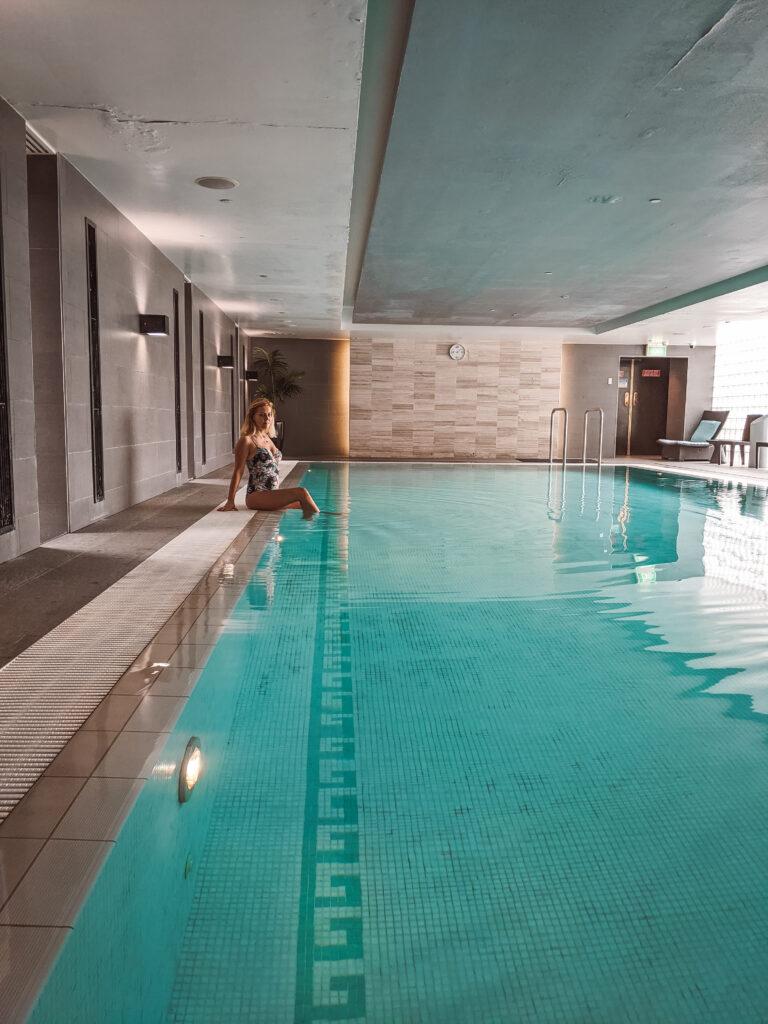 pool in Shangri-la Hotel in Sydney