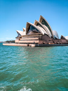 Sydney Opera House photo from the ferry